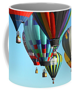 Coffee Mug featuring the photograph Hanging Around by Marie Leslie