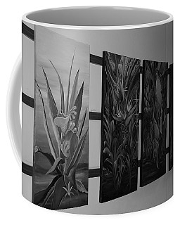 Coffee Mug featuring the photograph Hanging Art by Rob Hans