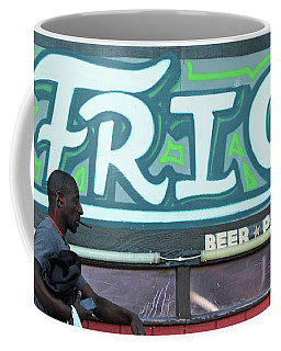 Coffee Mug featuring the photograph Hanging Out On Frio Street by Joe Jake Pratt