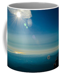 Hanging Out On The Summit Coffee Mug