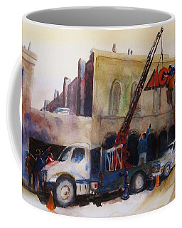 Hanging Red Ace #2 Coffee Mug