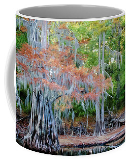 Coffee Mug featuring the photograph Hanging Rust by Lana Trussell
