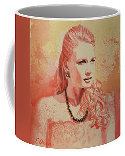 Hannah, Study In Red Coffee Mug