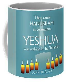 Hanukkah And Yeshua Coffee Mug