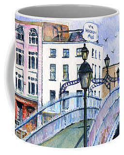Ha'penny Bridge Dublin Coffee Mug