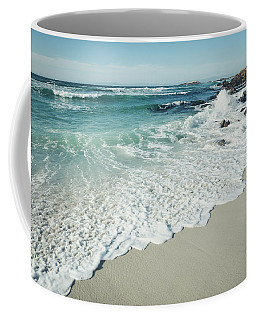 Happiness Comes In Waves Coffee Mug