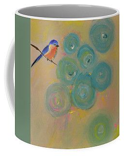 Happiness In Blue  Coffee Mug