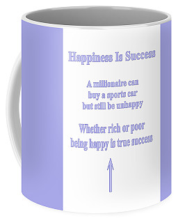 Happiness Is Success Coffee Mug