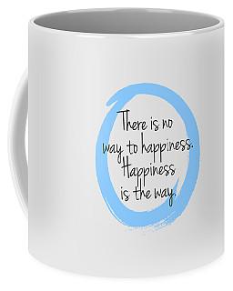 Coffee Mug featuring the digital art Happiness by Julie Niemela