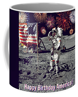 Happy Birthday America Coffee Mug