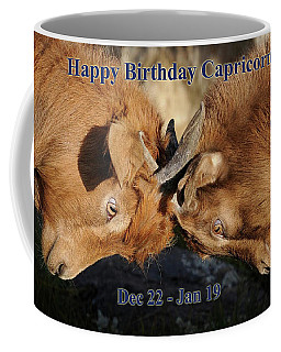 Happy Birthday Capricorn Coffee Mug