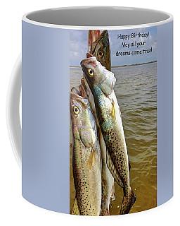 Happy Birthday Fisherman Coffee Mug