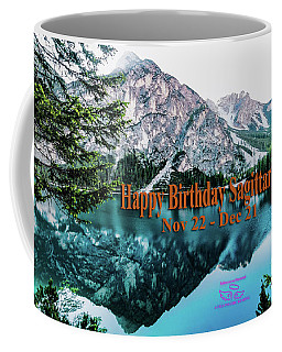 Happy Birthday Sagittarius Coffee Mug