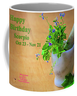 Happy Birthday Scorpio Coffee Mug