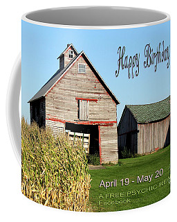 Happy Birthday Taurus Coffee Mug