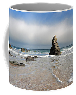 Coffee Mug featuring the photograph Happy Day On Sango Bay by Maria Gaellman