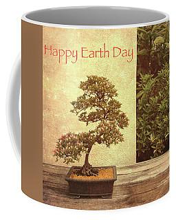 Happy Earth Day Coffee Mug by Chris Scroggins