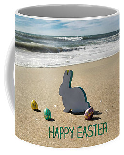 Coffee Mug featuring the photograph Happy Easter by Alison Frank