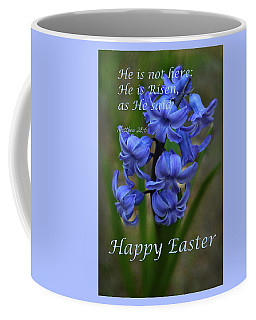 Coffee Mug featuring the photograph Happy Easter Hyacinth by Ann Bridges