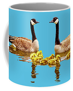 Coffee Mug featuring the photograph Happy Family by David Millenheft