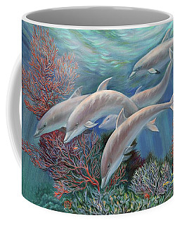Happy Family - Dolphins Are Awesome Coffee Mug
