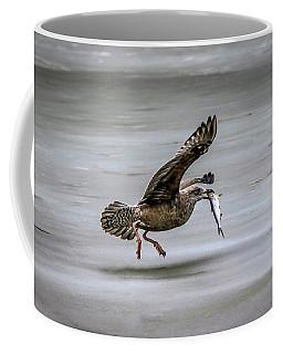 Happy Fisherman Coffee Mug by Ray Congrove