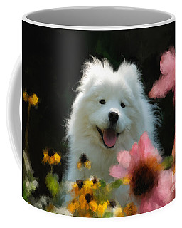 Happy Gal In The Garden Coffee Mug