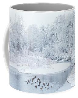 Happy Geese Coffee Mug