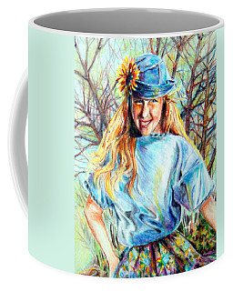 Happy Girl Coffee Mug