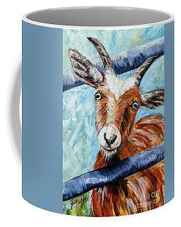 Happy Goat Coffee Mug