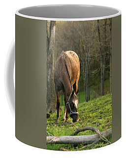 Coffee Mug featuring the photograph Happy Grazing by Angela Rath