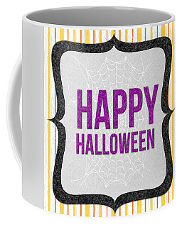 Happy Halloween-art By Linda Woods Coffee Mug