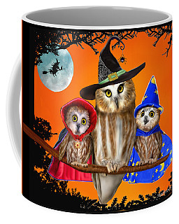 Happy Halloween From Owl Of Us Coffee Mug