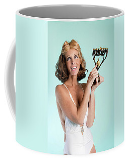 Happy Hanukkah 3 Coffee Mug by Lisa Piper