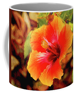 Happy Hibiscus Coffee Mug
