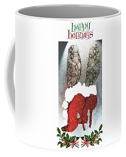 Happy Holidays - Christmas Card Coffee Mug
