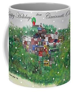 Happy Holidays From Cincinnati Ohio Coffee Mug