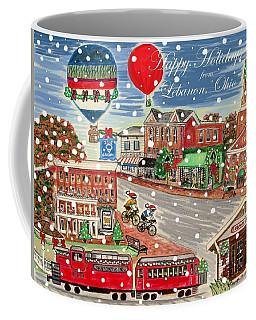 Happy Holidays From Lebanon, Ohio Coffee Mug