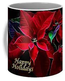Happy Holidays Coffee Mug by Sandy Keeton