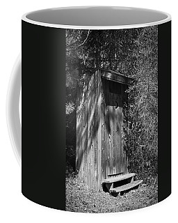 Happy Hollow Outhouse Coffee Mug