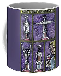 Happy Hour Calisthenics Coffee Mug