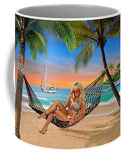 Happy Hour On The Beach Coffee Mug