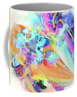 Coffee Mug featuring the digital art Happy Hues by Margie Chapman