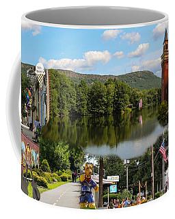 Happy In Easthampton Collage Coffee Mug