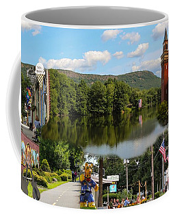 Happy In Easthampton Collage Coffee Mug