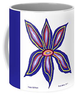 Happy Lily Bloom Coffee Mug