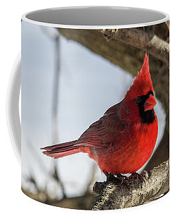 Happy Mister Cardinal Coffee Mug
