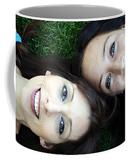Happy Mom And Daughter Coffee Mug