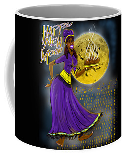 Happy New Moon Sirach 43 Coffee Mug