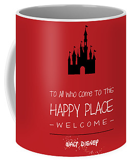 Coffee Mug featuring the digital art Happy Place by Nancy Ingersoll